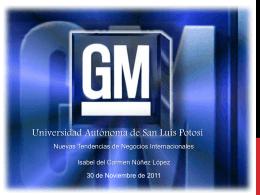 Isabel Núñez López GM - Nuevas Tendencias de Negocios