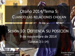 defienda_su_posicion_110914 - Iglesia Bíblica Bautista de Aguadilla
