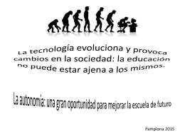 La tecnologia canvia i provoca canvis en la societat