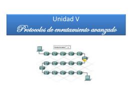 V. Protocolos de enrutamiento avanzado - redesdearealocal-utt