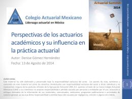 D3 - Colegio Actuarial Mexicano
