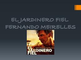 analisis pelicula Jardinero Fiel (152415)