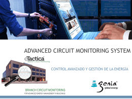 CIRCUIT MONITORING SYSTEM