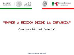Construcción del Material - Hospital Infantil de México Federico