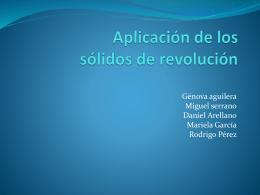 Aplicación de los sólidos de revolución