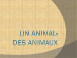 Un Animal