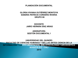 gestion documental - Tablas de Retención Documental