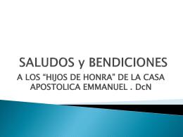 Un Padre Espiritual - iglesia apostólica emmanuel