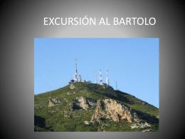 EXCURSIÓN AL BARTOLO