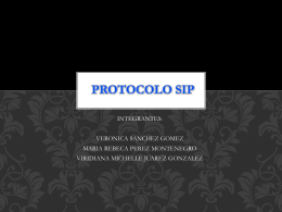 PROTOCOLO SIP - WordPress.com