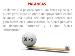 PALANCAS - WordPress.com