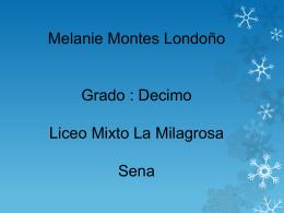 Melanie Montes Londoño