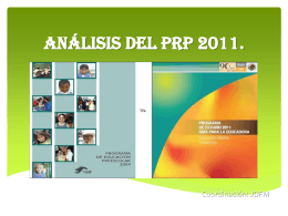 Analisis PRP 2011