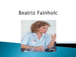 Beatriz Fainholc