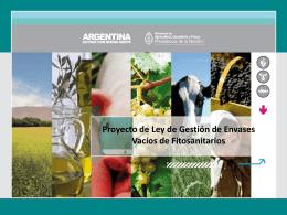 Presentación Angela García - MAGyP