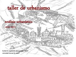 Descargar clase - Taller de Urbanismo Bragos