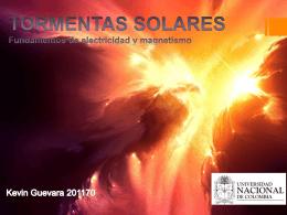 TORMENTAS SOLARES KEVIN GUEVARA - fem2012