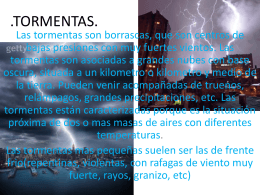 TORMENTAS - WordPress.com