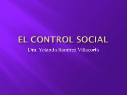 4 El Control Social