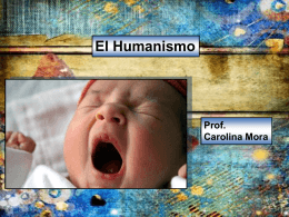Humanismo - WordPress.com