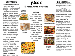 jOse*s The Mexican Restaurant - Jose`s  Mexican RestAUrant