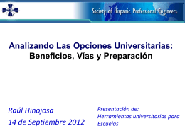 Universidad - SHPE Foundation