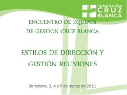 liderazgo - Fundación Cruz Blanca