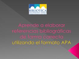 Normas APA.ppt - Biblioteca UACA
