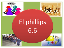 j. donald phillips en que consiste el phillips 66