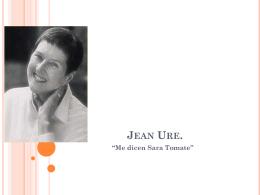 """Jean Ure. """"Me dicen Sara Tomate"""""""