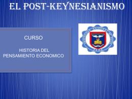 HPE Und 5 POST-KEYNESIANISMO