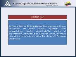 Diapositiva 1 - Presidencia de la República de Colombia