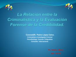 La Relación entre la Criminalística y la