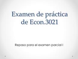 Examen de práctica de Econ.3021