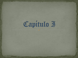 Capítulo I - Literalias
