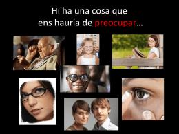 Presentació - Reeducació visual