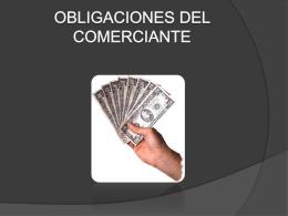OBLIGACIONES DEL COMERCIANTE (491891)