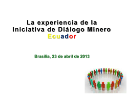 Iniciativa de Diálogo Minero