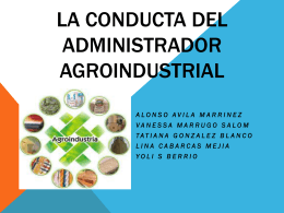 diapositiva agroindustria