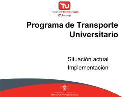 Transporte Universitario - Universidad de Guadalajara