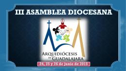 III Asamblea Diocesana - Vicaria Diocesana de Pastoral