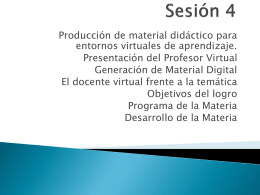 Sesión 3 - diplomadoTICIUFIM