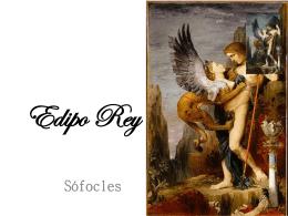 Contextualización Edipo Rey