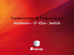Oficial 06 - Netbeans - If - else