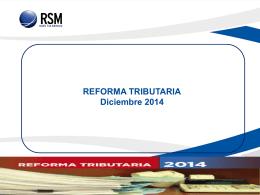 CHARLA REFORMA TRIBUTARIA CC