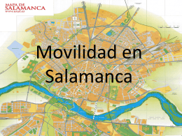 Movilidad en Salamanca - Lucía Q, Laura C. y Cintia EN ESPAÑOL