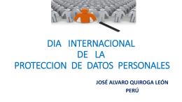 José Álvaro Quiroga Leó - Instituto de Acceso a la Información