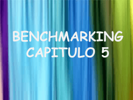 Que es un socio del benchmarking?