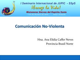 Comunicación para la Paz JPIC español
