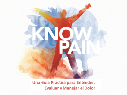 Preguntas interactivas - Know Pain Educational Program